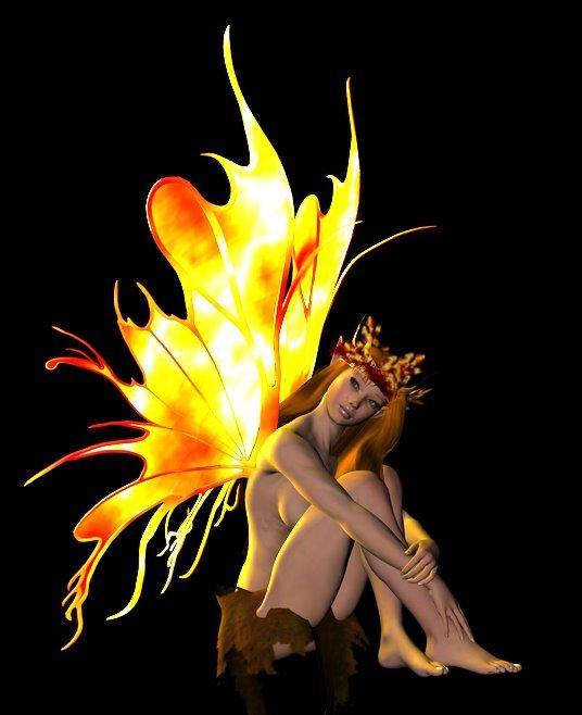 Sandi - The Fire Faery